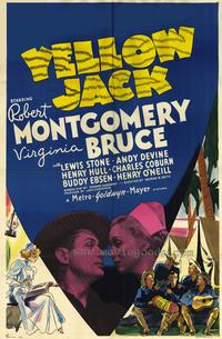 Yellow Jack - 27 x 40 Movie Poster - Style A