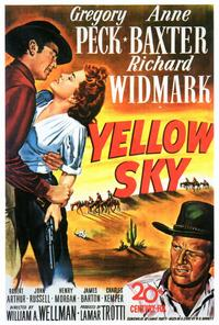 Yellow Sky - 27 x 40 Movie Poster - Style A