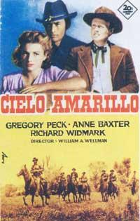 Yellow Sky - 11 x 17 Movie Poster - Spanish Style C