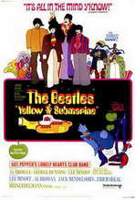Yellow Submarine - 27 x 40 Movie Poster - Style A