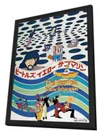 Yellow Submarine - 27 x 40 Movie Poster - Japanese Style A - in Deluxe Wood Frame