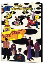Yellow Submarine - 11 x 17 Movie Poster - Style B - Museum Wrapped Canvas