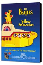 Yellow Submarine - 11 x 17 Movie Poster - Style D - Museum Wrapped Canvas