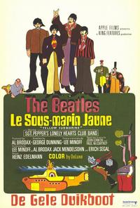 Yellow Submarine - 11 x 17 Movie Poster - French Style A