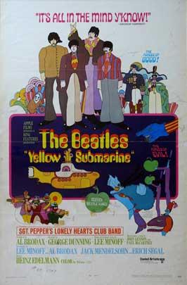 Yellow Submarine - 11 x 17 Movie Poster - Style G