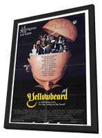 Yellowbeard - 11 x 17 Movie Poster - Style A - in Deluxe Wood Frame