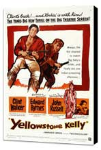 Yellowstone Kelly - 27 x 40 Movie Poster - Style A - Museum Wrapped Canvas