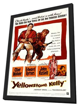 Yellowstone Kelly - 11 x 17 Movie Poster - Style A - in Deluxe Wood Frame