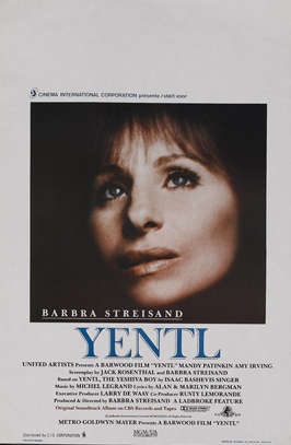 Yentl - 11 x 17 Movie Poster - Belgian Style A