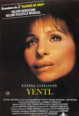 Yentl - 27 x 40 Movie Poster - Spanish Style A