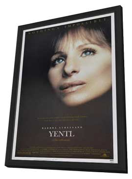 Yentl - 27 x 40 Movie Poster - Style A - in Deluxe Wood Frame
