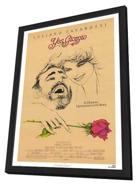 Yes, Giorgio - 27 x 40 Movie Poster - Style A - in Deluxe Wood Frame