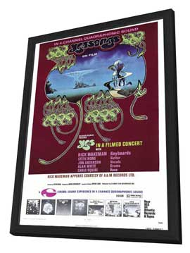 Yessongs - 27 x 40 Movie Poster - Style A - in Deluxe Wood Frame