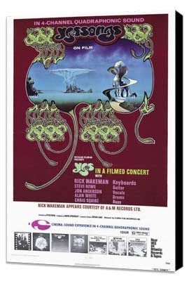 Yessongs - 27 x 40 Movie Poster - Style A - Museum Wrapped Canvas