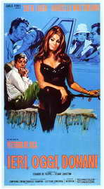Yesterday, Today and Tomorrow - 27 x 40 Movie Poster - Italian Style A
