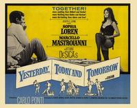 Yesterday, Today and Tomorrow - 22 x 28 Movie Poster - Half Sheet Style A