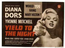Yield to the Night - 11 x 14 Poster UK Style A