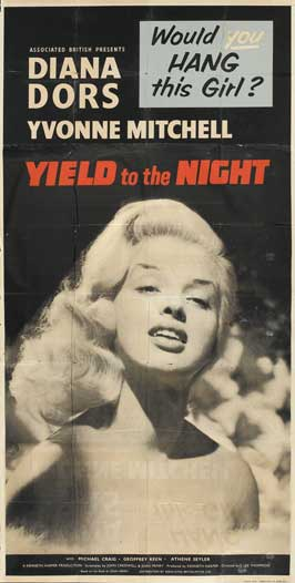 Yield to the Night - 20 x 40 Movie Poster - UK Style A