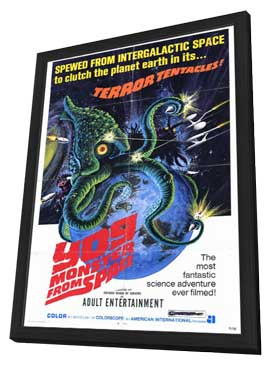 Yog, Monster from Space - 11 x 17 Movie Poster - Style A - in Deluxe Wood Frame