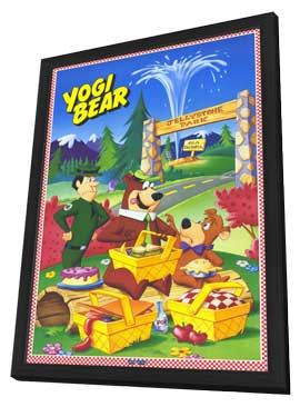 Yogi Bear - 11 x 17 Movie Poster - Style A - in Deluxe Wood Frame