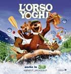 Yogi Bear - 30 x 30 Movie Poster - Swiss Style A