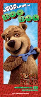 Yogi Bear - 20 x 40 Movie Poster - UK Style A