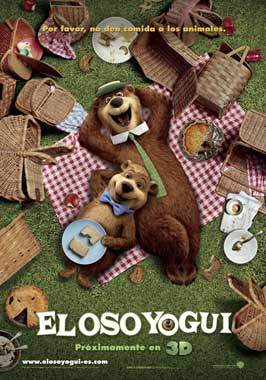 Yogi Bear - 11 x 17 Movie Poster - Spanish Style A