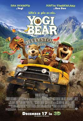 Yogi Bear - 11 x 17 Movie Poster - Style B