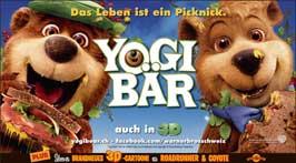 Yogi Bear - 20 x 40 Movie Poster - Swiss Style A