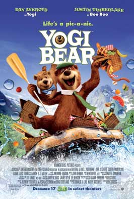 Yogi Bear - 43 x 62 Movie Poster - Bus Shelter Style A