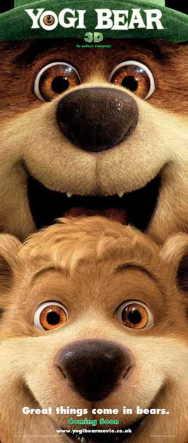 Yogi Bear - 20 x 40 Movie Poster - UK Style B