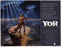 Yor, the Hunter from the Future - 11 x 14 Movie Poster - Style A