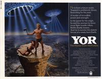 Yor, the Hunter from the Future - 22 x 28 Movie Poster - Half Sheet Style A