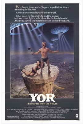 Yor, the Hunter from the Future - 11 x 17 Movie Poster - Style A
