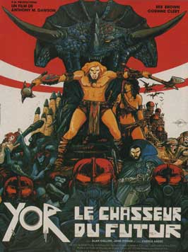 Yor, the Hunter from the Future - 11 x 17 Movie Poster - French Style A
