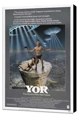 Yor, the Hunter from the Future - 27 x 40 Movie Poster - Style A - Museum Wrapped Canvas