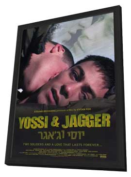 Yossi and Jagger - 11 x 17 Movie Poster - Style A - in Deluxe Wood Frame