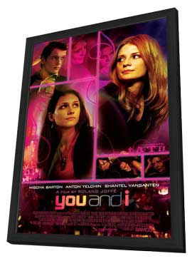 You and I - 11 x 17 Movie Poster - Style A - in Deluxe Wood Frame