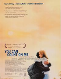 You Can Count On Me - 43 x 62 Movie Poster - Bus Shelter Style A