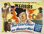 You Can't Cheat an Honest Man - 22 x 28 Movie Poster - Style A