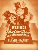 You Can't Cheat an Honest Man - 11 x 17 Movie Poster - Style F