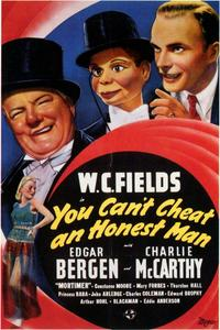 You Can't Cheat an Honest Man - 43 x 62 Movie Poster - Bus Shelter Style A