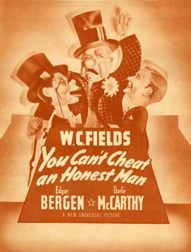 You Can't Cheat an Honest Man - 27 x 40 Movie Poster - Style B