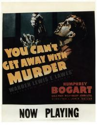 You Can't Get Away With Murder - 11 x 14 Movie Poster - Style A