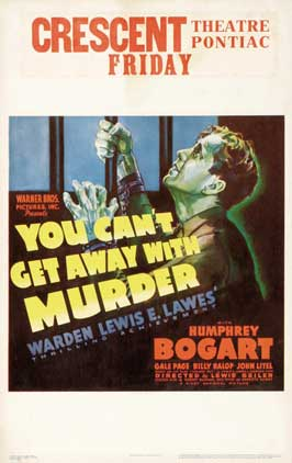 You Can't Get Away With Murder - 11 x 17 Movie Poster - Style B