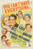 You Can't Have Everything - 11 x 17 Movie Poster - Style A