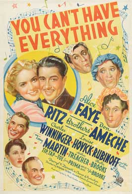 You Can't Have Everything - 27 x 40 Movie Poster - Style A