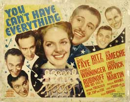 You Can't Have Everything - 22 x 28 Movie Poster - Half Sheet Style A