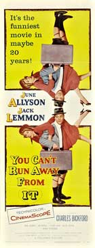 You Can't Run Away From It - 14 x 36 Movie Poster - Insert Style A