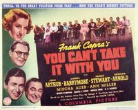 You Can't Take It with You - 11 x 14 Movie Poster - Style A